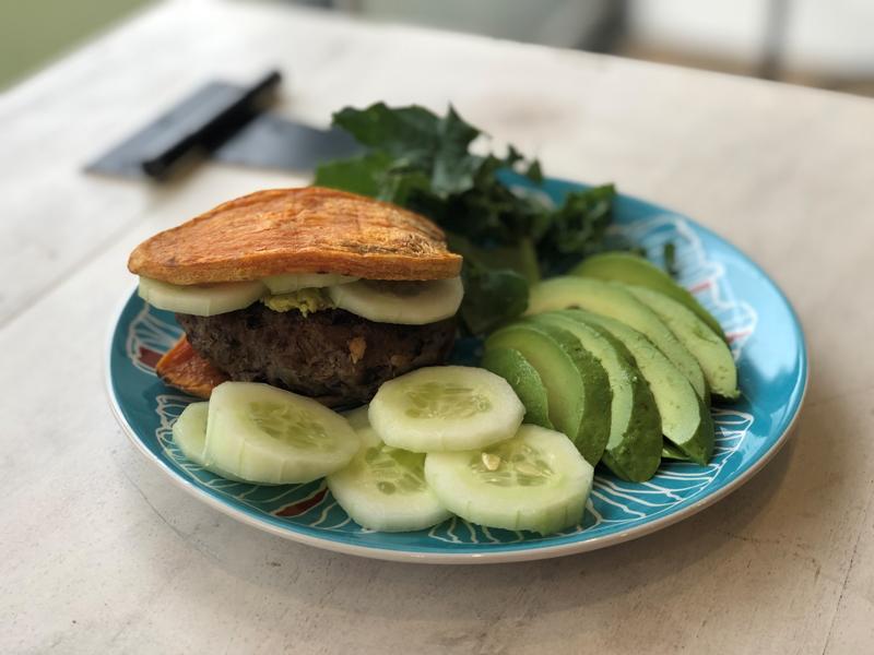 Gluten-Free Fiesta Bison Burgers